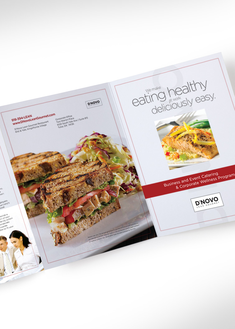 Restaurant Collateral menu design by Hampton Creative
