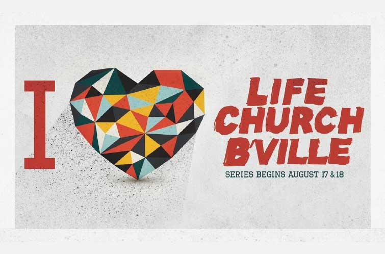 Sermon Series I Heart | Life Church Bartlesville | Designed by: Hampton Creative